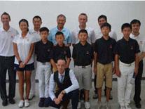 深圳体校美国橡树谷班开学